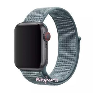 Accessories - NEW Celestial Teal Sport Loop BAND For Apple Watch